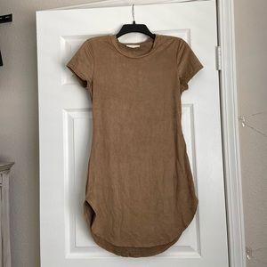 Soft tan dress in size L